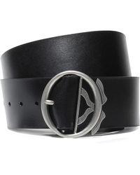 Ann Demeulemeester Leather Belt Black