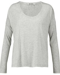 T By Alexander Wang - Jersey Top - Lyst