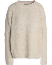 Vince - Bouclé Wool Sweater - Lyst