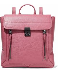 3.1 Phillip Lim - Pashli Textured-leather Backpack - Lyst