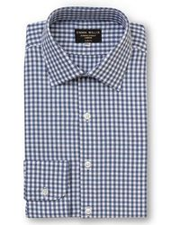 Emma Willis - Navy Check Brushed Cotton Shirt - Lyst