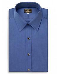 Emma Willis - Navy Cristallo Cotton Shirt - Lyst