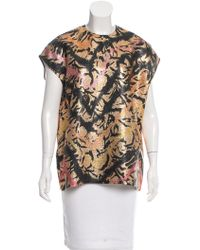 TOME - Brocade Printed Blouse W/ Tags - Lyst