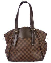 Louis Vuitton - Damier Ebene Verona Mm Brown - Lyst