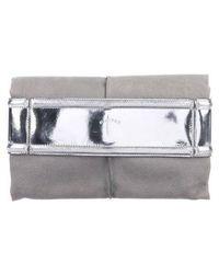 Maiyet - Fold-over Henley Clutch Grey - Lyst