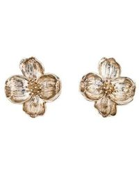 Tiffany & Co. - Dogwood Earclip Earrings Silver - Lyst