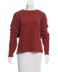 Eskandar - Cashmere Oversize Sweater Orange - Lyst