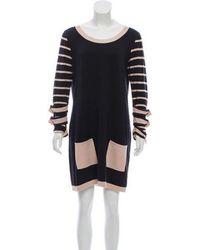 Alice By Temperley - Long Sleeve Sweater Dress - Lyst