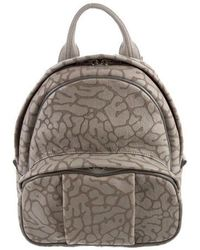 Alexander Wang - Dumbo Leather Backpack Grey - Lyst