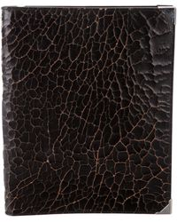 Alexander Wang - Distressed Leather Ipad Case Black - Lyst