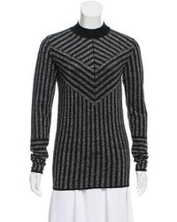 Dodo Bar Or - Lurex Mock Neck Sweater - Lyst