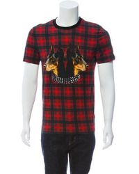 2e1eeb3b5e2e Lyst - Louis Vuitton Plaid Polo Shirt in Red for Men