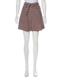 Apiece Apart - High-rise Short Shorts Orange - Lyst