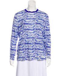 Prabal Gurung - Printed Long Sleeve T-shirt - Lyst
