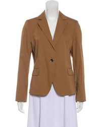 Ferragamo - Notch-lapel Long Sleeve Jacket - Lyst