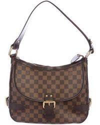Louis Vuitton - Damier Ebene Highbury Bag Brown - Lyst