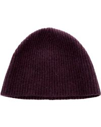 Lyst - Marc Jacobs Cashmere Rib Knit Beanie Green in Gray for Men fe6a48aed40f