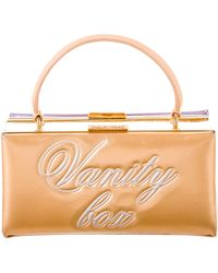 Boutique Moschino - Vanity Box Handle Bag - Lyst