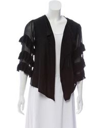 Alice By Temperley - Open-front Knit Cardigan - Lyst