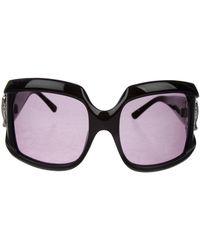 Loewe - Square Oversize Sunglasses Black - Lyst