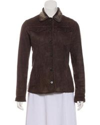 Ferragamo - Casual Shearling Jacket - Lyst