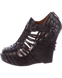 Givenchy - Corinne Wedge Sandals - Lyst