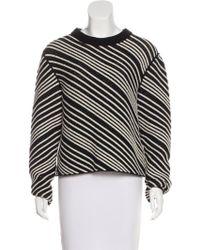 Sonia Rykiel - Terry Diagonal Sweater - Lyst