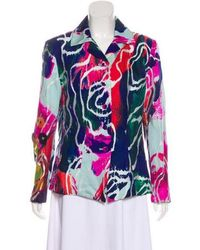 Christian Lacroix - Embroidered Silk-blend Jacket - Lyst