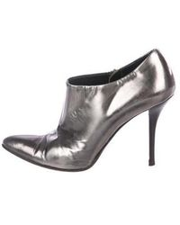Helmut Lang - Pointed-toe Booties - Lyst