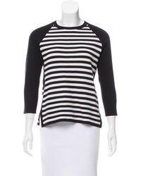 Edun - Striped Crew Neck Sweater W/ Tags - Lyst