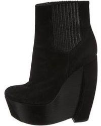 Rachel Zoe - Platform Wedge Ankle Boots - Lyst