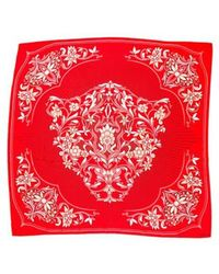 Cartier - Floral Printed Scarf - Lyst