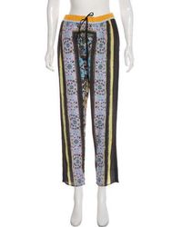 Clover Canyon - Printed High-rise Pants Multicolor - Lyst