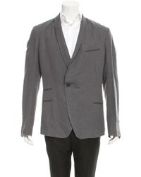 Haider Ackermann - Hartman Shawl Collar Blazer W/ Tags Grey - Lyst