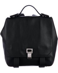 Proenza Schouler - Small Ps1 Courier Backpack W/ Tags Black - Lyst