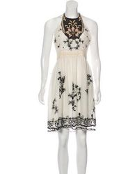 Anna Sui - Embroidered Lace Dress - Lyst