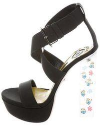 Ruthie Davis - Leather Minion Sandals W/ Tags - Lyst