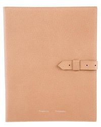 Proenza Schouler - Textured Leather Tablet Case Nude - Lyst