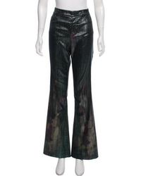 Tom Ford - Metallic Flared Jeans Olive - Lyst
