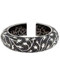 M.c.l  Matthew Campbell Laurenza - Sapphire & Enamel Bracelet Silver - Lyst