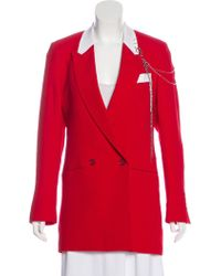 Each x Other - Woven Peak-lapel Blazer W/ Tags - Lyst