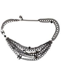 Chanel - Cc & Bead Multistrand Belt - Lyst