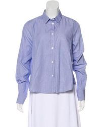 Boy by Band of Outsiders - Collared Button-up Top - Lyst