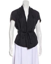 Zero + Maria Cornejo - Short Sleeve Woven Top - Lyst