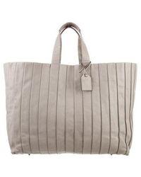 Reed Krakoff - Leather Handle Bag Beige - Lyst