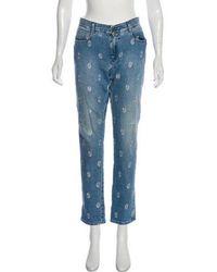 Stella McCartney - Mid-rise Straight-leg Jeans - Lyst