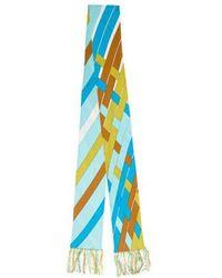Emilio Pucci - Silk Printed Scarf - Lyst