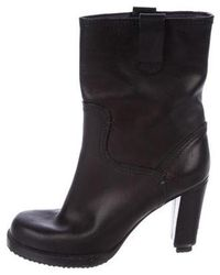 Givenchy - Leather Ankle Booties - Lyst