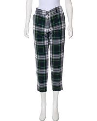 SUNO - Wool Mid-rise Pants - Lyst