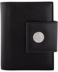 BVLGARI - Leather Address Book Black - Lyst